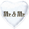 "18"" Mr & Mr Foil Heart Balloon product link"