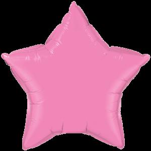 """20"""" Rose foil Star Balloon"""