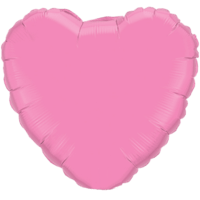 "18"" Heart Rose Foil Balloon"