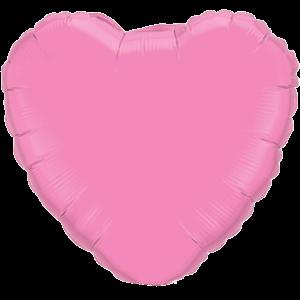 "18"" Rose foil Heart Balloon"