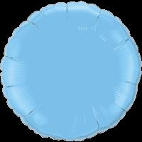"18"" Round Pale Blue Foil Balloon"