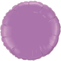 "18"" Round Spring Lilac Foil Balloon"
