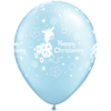 "11"" Pearl Light Blue Christening Soft Giraffe product link"