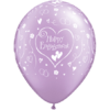 "11"" Diamond Clear Engagement Latex Balloons x product link"