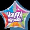 "22"" Happy Birthday Stars & Dots Star Bubble B product link"