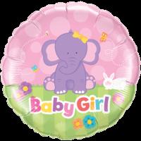"""18"""" Baby Girl Elephant Balloon"""