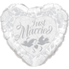 Just Married Pearl White & Silver product link