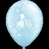 "11"" Pearl Light Blue Soft Giraffe Boy Latex B product link"
