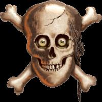 """32"""" Scary Skeleton Balloon"""