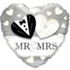 "18"" Mr and Mrs Wedding Foil Balloon product link"