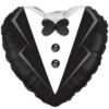 "18"" Wedding Tuxedo Foil Balloon product link"