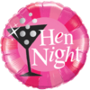 "18"" Hen Night Cocktail Balloon overview"