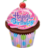 """35"""" Birthday Frosted Cupcake Foil Balloon product link"""