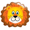 "29"" Lovable Lion Foil Balloon product link"
