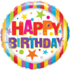 """18"""" Happy Birthday Stripes and Stars Foil Bal product link"""