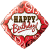"18"" Happy Birthday Red Bandana Foil Balloon product link"
