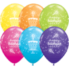 Birthday Latex Balloons overview