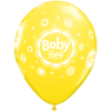 """11"""" Assorted Baby Boy Dotted Latex Balloons x product link"""