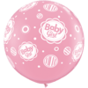 3FT Pink Baby Girl Dots Latex x 2 product link