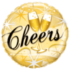 "18"" Gold Cheers Bubbly Foil overview"