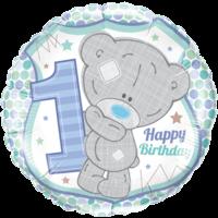 "18"" Tatty Teddy 1st Bday Balloon"