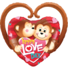 Happy Love Day Monkeys product link