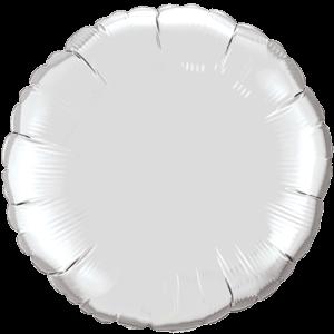 "18"" Silver foil Round Balloon"