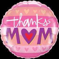 """18"""" Thanks Mum Pink"""