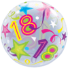 18th Birthday Bubble Balloons overview