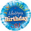 Happy Birthday Bright Blue product link