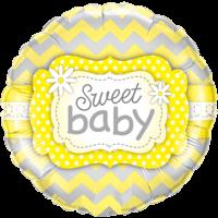 """18"""" Yellow New Baby"""