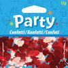 Confetti - Red Hearts