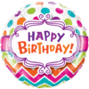 """18"""" Colourful Birthday Dots product link"""