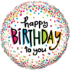 """18"""" Happy Birthday Dots product link"""