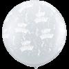3FT Diamond Clear Birthday Latex x 2 product link