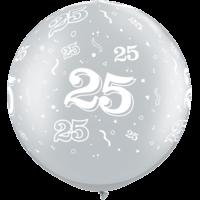 """30"""" 25th Swirls x 2"""