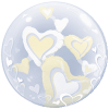 WHITE & IVORY FLOATING HEARTS product link