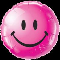 """18"""" Berry Smiley Face Balloon"""