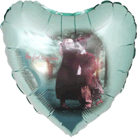 "18"" Follow Your Heart Balloon"