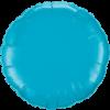 """36"""" Turquoise foil Round Balloon"""