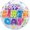 """22"""" Happy Birthday Party Patterns Bubble Ball product link"""