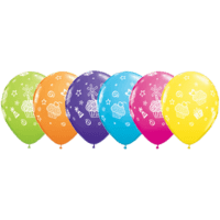 "11"" Cupcakes & Presents Assortment x 25"
