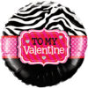 To My Valentine Zebra Stripes product link