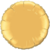 "18"" Metallic Gold Round Foil Balloon product link"