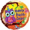 "18"" Birthday Owl Foil Balloon product link"