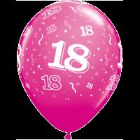 "11"" 18th Wild Berry Latex x 25"