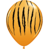 "11"" Orange Tiger Stripes Latex x 25 product link"