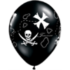 "11"" Black Pirate's Treasure Map Latex x 50 product link"