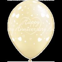"""11"""" Ivory Anniversary x 25"""