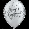 "11"" Engagement Sparkles Black & Silver x 25 overview"